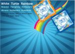 White Turtle Rainbow Cover 2